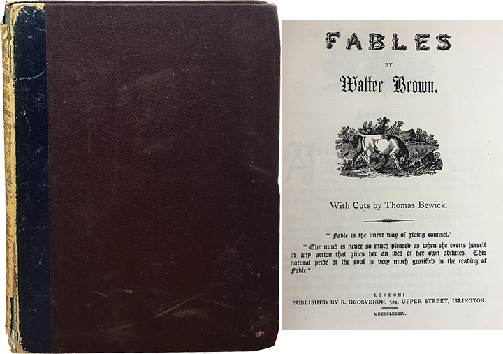 Fables. Walter Brown.