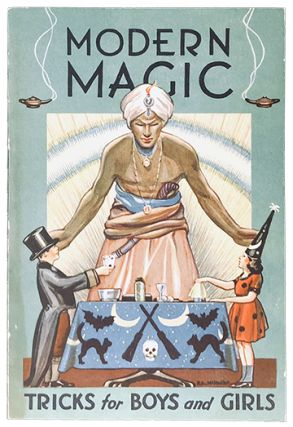 Modern Magic; Tricks for Boys and Girls. Will Lindhorst
