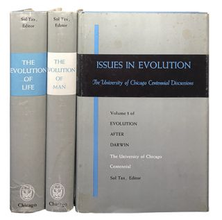 Evolution After Darwin (3 Vol Set). Sol Tax