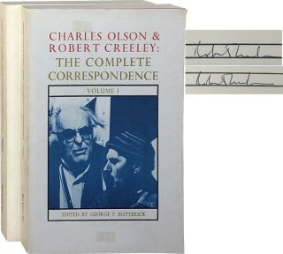 Charles Olson & Robert Creeley: The Complete Correspondence [Vols 1 & 2]. Geroge F. Butterick